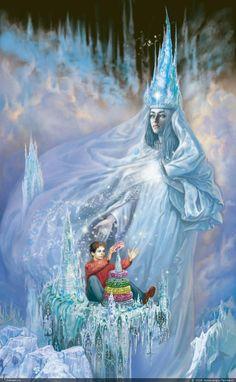 Сказка о Снежной Королеве.