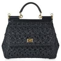 Buy DOLCE AND GABBANA Sicily Raffia Chain Tote Bag £2150 from Tote Bags range at #LaBijouxBoutique.co.uk Marketplace. Fast & Secure Delivery from CRUISE online store.