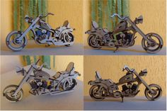 visit www.makeCNC.com to purchase this pattern Harley Davidson Motorcycle