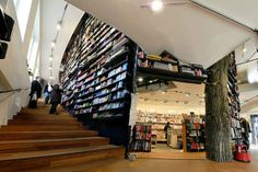 The American Book Center, Amsterdam, Hollanda