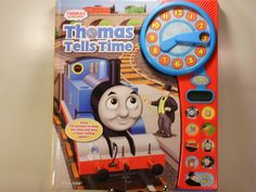 Thomas Tells Time Deluxe Clock Book by Publications Publications...