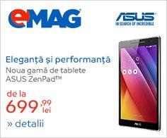 Oferta Noua Gama De Tablete Asus ZenPad Tablete ASUS ZenPad - eMAG.ro Tablete ASUS ZenPad . Finantare rate online EMAG.RO