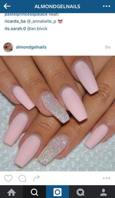 as you can see i found this one on instagram , and these nails are SO CLOSE to what i want. PS : ❤️ if you know an great IG account who posts GEL nail VIDIOS pleeeease let me know ❤️