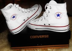 #converse#allstar#white#alte#shoes#super#comodissime.