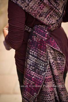 Woven Wings knits Light Pillar Wrap (merino, linen, silk)