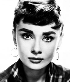 Audrey Hepburn - Sabrina Those eyebrows are perfection.  I cut my hair because of this movie lol