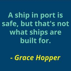 We love Grace Hopper, an amazing woman coder! Who inspires you? #wcw #quotestoliveby