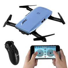 SGILE RC Quadcopter Gyro Drone Xmas Gift Toy with 360 Rotating Headless Mode Altitude Hold Mode for Beginners Kids Boys Girls CONVENIENCE: The exterior framework features foldable arms for easy storage. The included storage box is compact and portable, and also protects the drone from damage. SMARTPHONE CONTROL: The drone can be controlled using your smartphone through the drone App. App Control Mode allows user to command the drone with iOS and Android smartphones over WiFi.