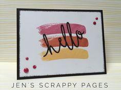 Jen's Scrappy Pages: CTMH Featured Products Blog Hop - Thin Cuts