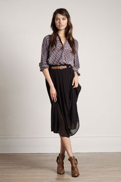 sheer chiffon skirt. Get the same here http://mickeysgirl.com/black-chiffon-skirt.html
