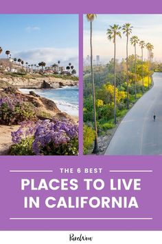Whether you're seeking a weekend getaway or thinking about a more permanent change, here are six of the best places to live in California. #California #towns #cities Best Places To Live, Cool Places To Visit, Summer Travel, Us Travel, Cheap Family Vacations, California California, Romantic Getaways, United States Travel, Amazing Destinations