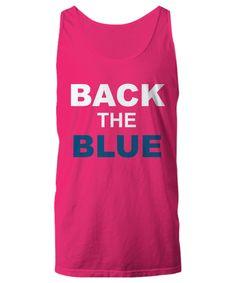 Back The Blue Unisex Tank Top