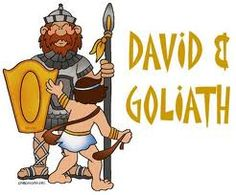 IDEAS UNLIMITED: DAVID AND GOLIATH Bible Story (For Young Children)