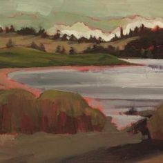 Low Tide, Eastern Passage by Mary Garoutte of Nova Scotia Canadian Art, Nova Scotia, Contemporary Art, Mary, Exterior, Artists, Landscape, Painting, Scenery