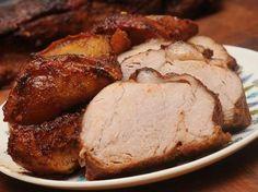 Sweet-N-Spicy Pork Tenderloin