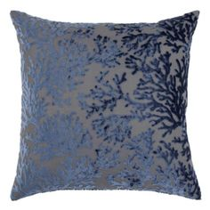 """Corales Pillow 24"""" from Z Gallerie $79.95. To tie in with the rug."""