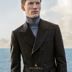 http://chicerman.com scabal: Winter tailoring by #Scabal - On sale in stores. #menshoes