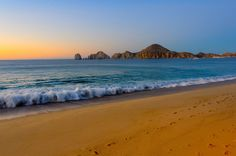 Cabo Daydream An early morning view of land's end in Cabo San Lucas.