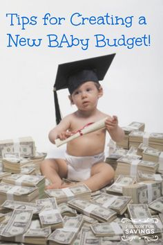 Budget for New Baby! How to Plan for Your Baby's Arrival and not worry about the budget! Budget, Budgeting Tips, #budget