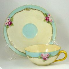 vintage cup and saucer!