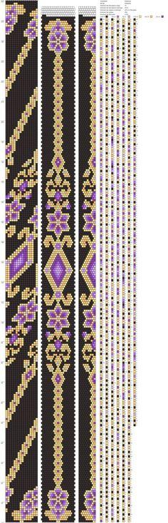 Crochet Bracelet Pattern, Bead Crochet Patterns, Peyote Stitch Patterns, Bead Crochet Rope, Seed Bead Patterns, Beaded Jewelry Patterns, Beading Patterns, Seed Bead Jewelry, Bead Jewellery