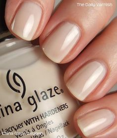 China Glaze - Oxygen we ❤ this! moncheribridals.com #weddingnails #bridalnails