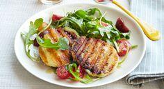 Grilled Smoked Mozzarella Salad - GoodHousekeeping.com