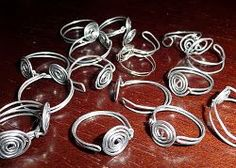For only pennies you can make a DIY RING Base with supplies from the hardware store.  Make your own wire wrapped ring with this tutorial.  No jewelry making experience required!
