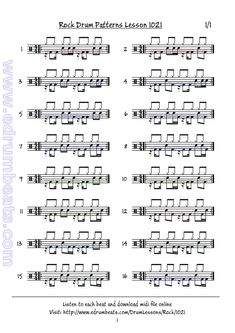 #rock #drumbeats 1021