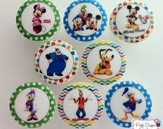Mickey Mouse Drawer Knobs | MICKEY MOUSE Disney Clubhouse Knobs Drawer Pull Kids Decor boys girls ...
