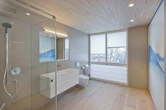 HI-MACS® per una casa 'verde' in Svizzera House Inspo, Home, Casa Verde, Modern Bathroom, Modern Kitchen, House, Pent House, House Interior, Interior Architecture