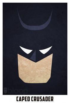 Posters de Super-Heróis. Minimalistas e super legais!   ROCK'N TECH