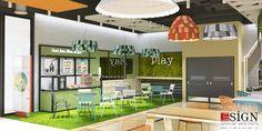 Autoservire 2 – proiect de design interior in stil modern - Studio inSIGN Design Interior, Modern, Restaurants, Floor Plans, Projects, Log Projects, Trendy Tree, House Floor Plans, Restaurant