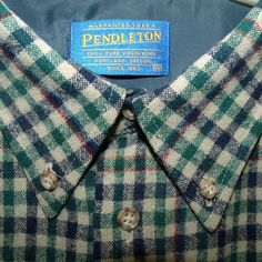 9dc8080614 Men's Vintage Clothing & Accessories · Vtg 80s Pendleton Wool Plaid Shirt  XL/XXL Button Up Long Sleeve Made In USA