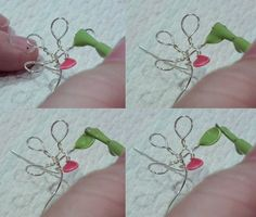 Drahtblumen selber machen - Anleitung in vier Schritten