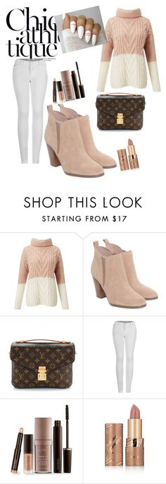 """""""Untitled #96"""" by guerline011 ❤ liked on Polyvore featuring Miss Selfridge, Michael Kors, Louis Vuitton, 2LUV, Laura Mercier and tarte"""