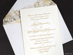 East Six: Wedding Invitations New York