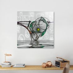 Discover «Rise Of The Time Machine», Limited Edition Aluminum Print by Glink - From $65 - Curioos
