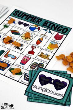 BINGO: Summer: BINGO