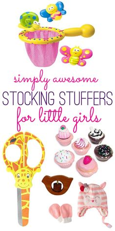 Great stocking stuffer ideas for little girls