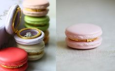 Wedding Ideas - Engagement Platters in Macarons | WedMeGood #wedmegood #ideas