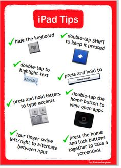 5 Awesome iPad Posters for Teachers ~ Educational Technology and Mobile Learning