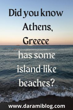 If you are in Athens and would like to explore it as a local then you should definitely spend a day at the beach. Come and check my detailed guide on the top 3 that are worth your time. #beaches #summer #visitathens #travel #beachesinathens Travel Guides, Travel Tips, Best Flight Deals, Places Worth Visiting, Best Hikes, True Facts, Safety Tips, Greece Travel, Beach Fun
