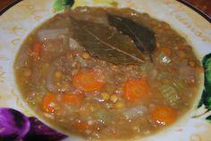 Pressure Cooker Lentil Soup Recipe - Genius Kitchensparklesparkle