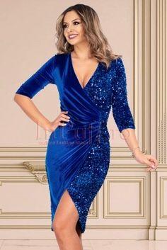 Rochie Revelion Bodycon Dress, Formal Dresses, Fashion, Tea Length Formal Dresses, Moda, Formal Gowns, Fashion Styles, Black Tie Dresses, Gowns