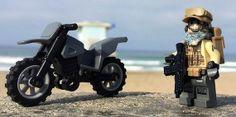 Dirt Bike Patrol Custom Minifigure