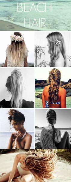 BEACH-HAIR inspiration - www.dropdeadgorgeousdaily.com #hair #beauty #style