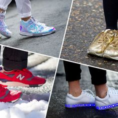 The 60 Best Street-Style Sneakers from New York, London, and Milan