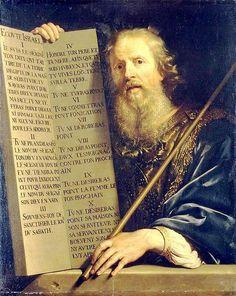 Philippe de Champaigne, Moses with The Ten Commandmends