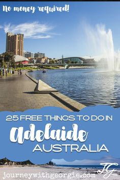You don't need much money to enjoy the capital of South Australia, Adelaide. Here are 25 fun free things to do in Adelaide! South Australia, Western Australia, Australia Travel, Australia Beach, Visit Australia, Cancun Hotels, Beach Hotels, Beach Resorts, Backpacking Europe